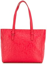 Salvatore Ferragamo textured tote bag - women - Lamb Skin - One Size