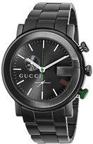 Gucci Black Chronograph Sports Watch
