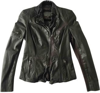 Muu Baa Muubaa Grey Leather Leather jackets