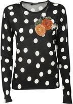 Dolce & Gabbana Polka Dots Sweater