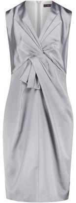 Vera Mont Satin Shift Dress