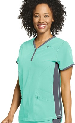 Jockey Plus Size Scrubs Retro Air Condition Top 2502