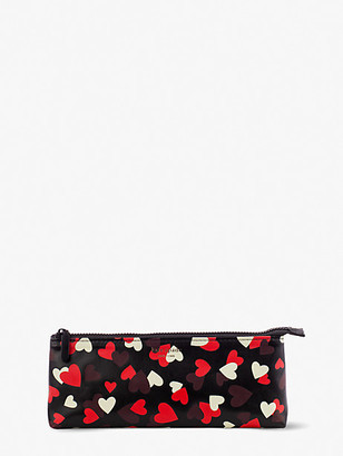 Kate Spade Celebration Hearts Pencil Case