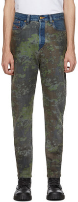 Diesel Green D-Vider Jeans