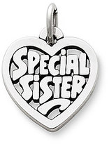 James Avery Jewelry James Avery Special Sister Sterling Silver Charm