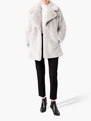 Hobbs Bethany Faux Fur Coat