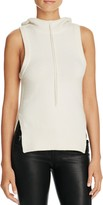 DKNY Pure Sleeveless Hooded Sweater