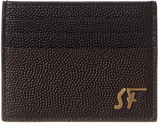 Salvatore Ferragamo Signature Leather Card Holder