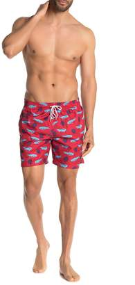 Sano Gator Printed Board Shorts