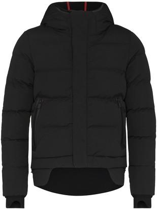 TEMPLA Hooded Layered Padded Jacket