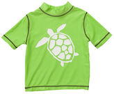 Carter's Short-Sleeve Turtle Rash Guard