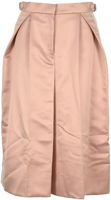 Sacai Side Band A Line Midi Skirt