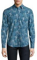 Paul Smith Slim-Fit Animal-Print Shirt