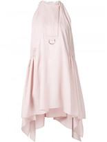 Paco Rabanne sleeveless draped dress
