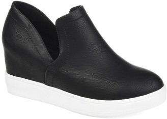 Journee Collection Cardi Wedge Sneaker