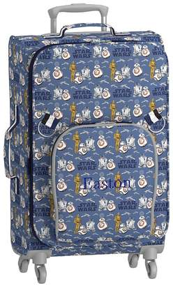 Pottery Barn Kids Star Wars Droids Spinner Luggage