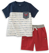 Kids Headquarters Baby Boys Baby Boys Two-Piece Tee and Pant Set