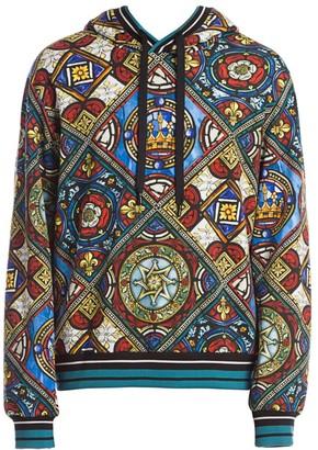 Dolce & Gabbana King Tile Hoodie