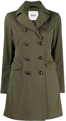 Bazar Deluxe Buttoned-Up Military Coat