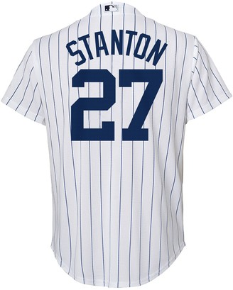 Majestic Boys 8-20 New York Yankees Giancarlo Stanton Replica Home Jersey