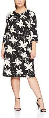 Ulla Popken Women's Jerseykleid mit Blumenprint Dress 28