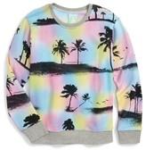 Flowers by Zoe Girl's Palm Tree Sweatshirt