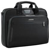 Briggs & Riley 'Medium Slim' Ballistic Nylon Briefcase - Black