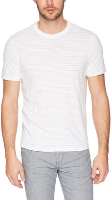 Calvin Klein Jeans Men's Short Sleeve Stripe T-Shirt Crew Neck