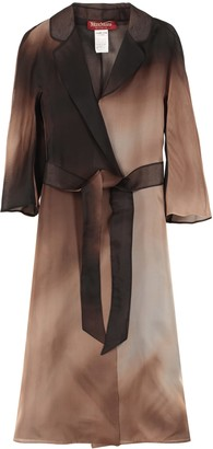 Max Mara Dondolo Silk Coat