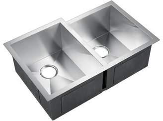 "3.1 Phillip Lim Barclay Gibson x 21"" Double Basin Undermount Kitchen Sink Barclay"