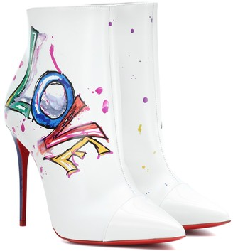 Christian Louboutin Boot In Love leather ankle boots