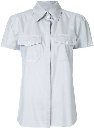 Chanel Pre Owned Short Sleeve Shirt