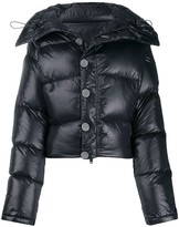 Unravel Project cropped puffer jacket