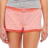 JCPenney Flirtitude® Mesh Ruffle Shorts