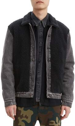 Levi's Premium Faux Shearling Panel Trucker Jacket