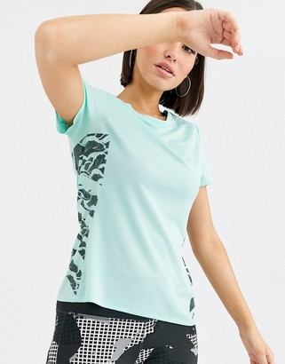 adidas Supernova Cru Parley T-Shirt-Green