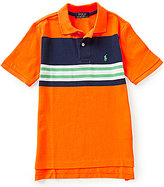 Ralph Lauren Big Boys 8-20 Striped Mesh Polo