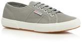 Superga Grey 'cotu Classic' Lace Up Shoes