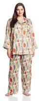 Natori Women's Plus-Size Dynasty Pajama Plus