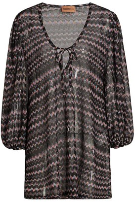 Missoni Mare Sheer Tunic Cover-Up
