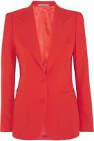 Bottega Veneta Wool-gabardine Blazer - Red