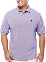 U.S. Polo Assn. USPA Short-Sleeve Heather Polo - Big & Tall