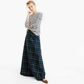 J.Crew Collection maxi skirt in tartan