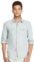 Denim & Supply Ralph Lauren Slim Fit Cowboy Shirt, Indigo Lt