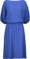 Marni Draped faille dress