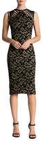 Dress the Population Gwen Strappy Lace Midi Dress