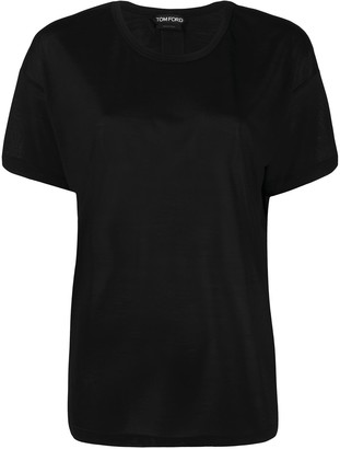 Tom Ford logo-patch short-sleeved T-shirt