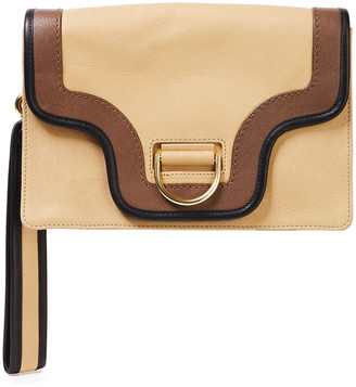 Marc Jacobs Uptown Leather Clutch