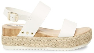 Steve Madden Cici White Leather
