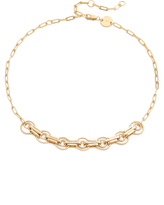 Jennifer Zeuner Jewelry Bryce Chain Choker Necklace